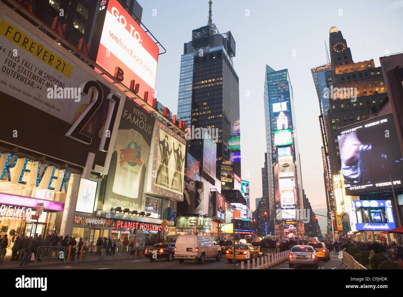Times Square, New York City, USA Stockbild