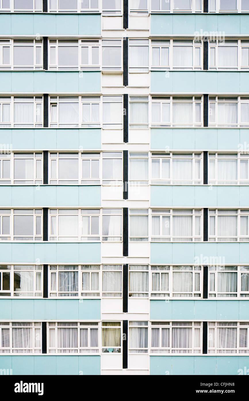 Wohn-Hochhaus Stockbild