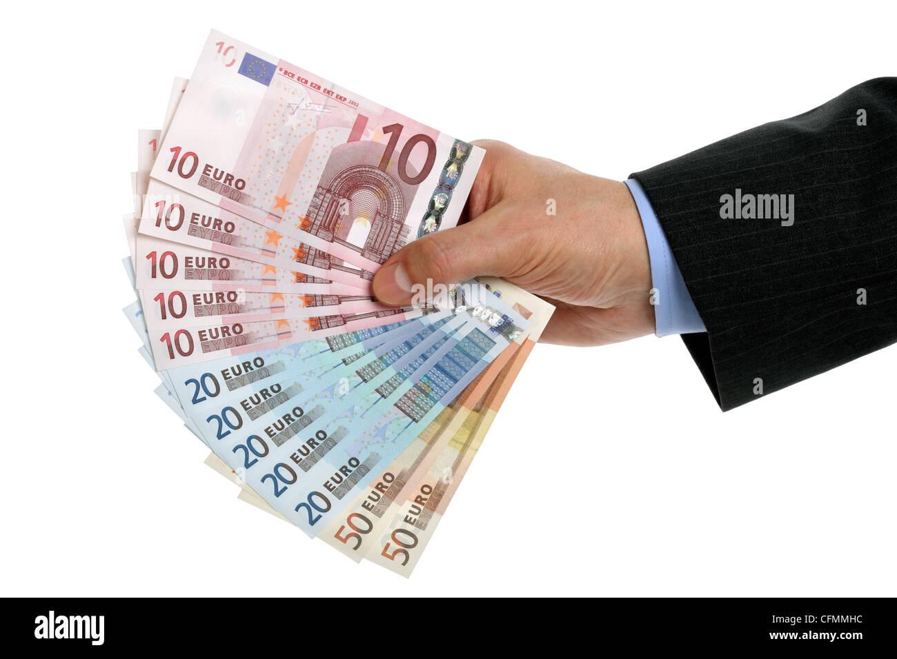 EU-Währung Stockbild