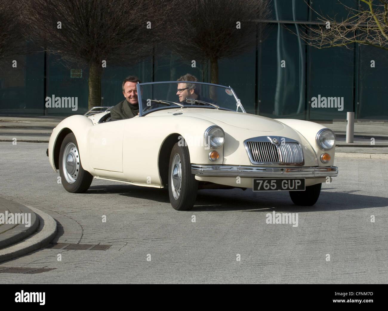 MGA englische offenen Sportwagen-Klassiker Stockbild