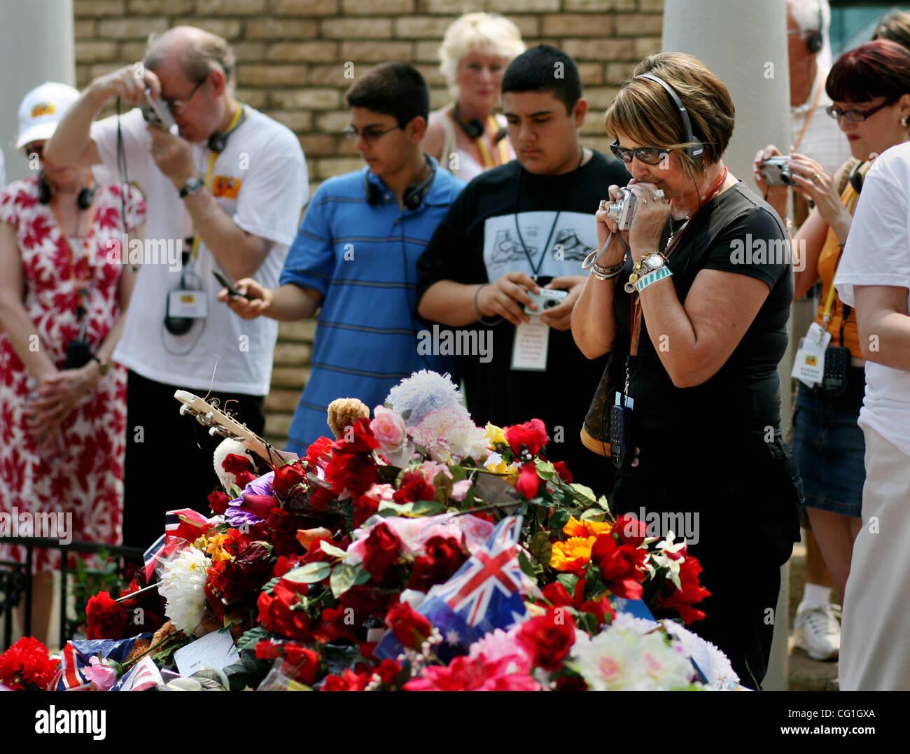 081607 traf Elvis 03 Personal Photo von Gary Coronado/The Palm Beach Post 0041321A mit Geschichte von Rachel Sauer Stockbild