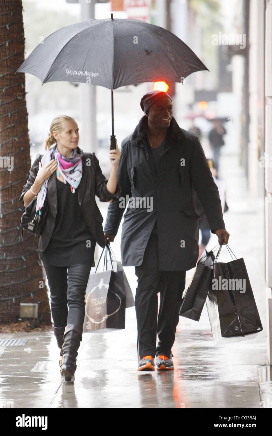 Heidi Klum und Seal machen Weihnachten zu shoppen. Das deutsche ...
