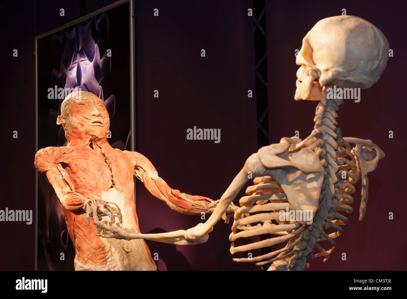 Italien Turin Palaisozaki die Ausstellung der menschlichen Körper 28 ...