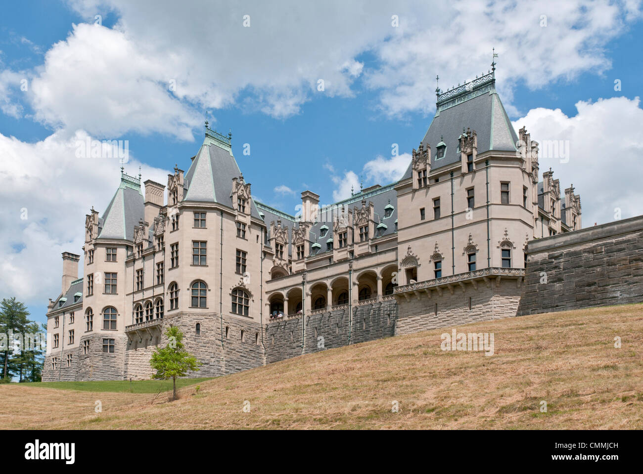 North Carolina Asheville Biltmore House Gardens George W