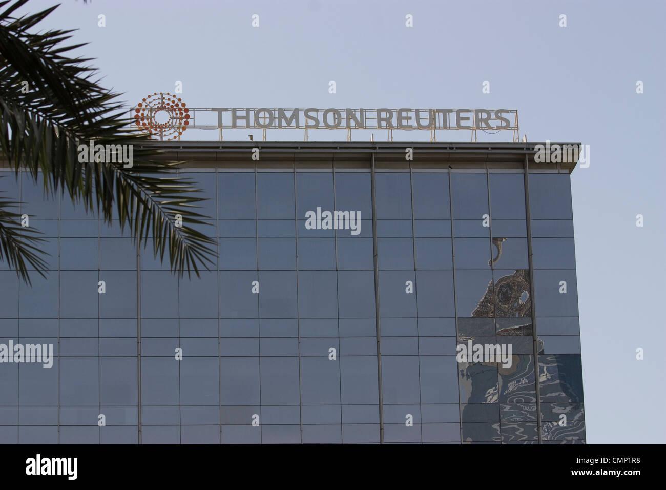 UAE Vereinigte Arabische Emirate Dubai Thomson Reuters Dubai Media City Stockfoto