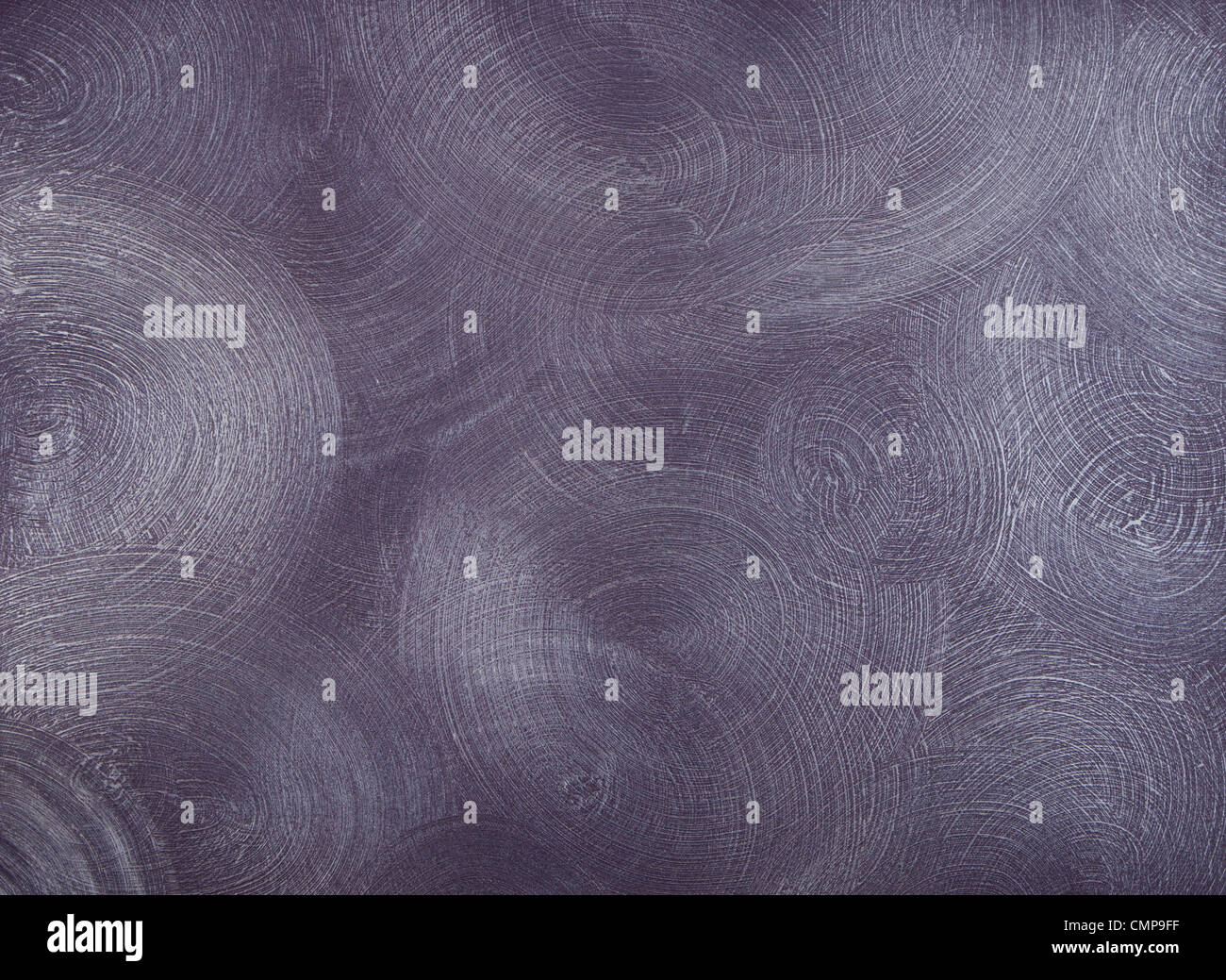 Textur der Wände bedeckt mit lila Farbe, mit häufigen, Runde zentrische Striche. Stockbild
