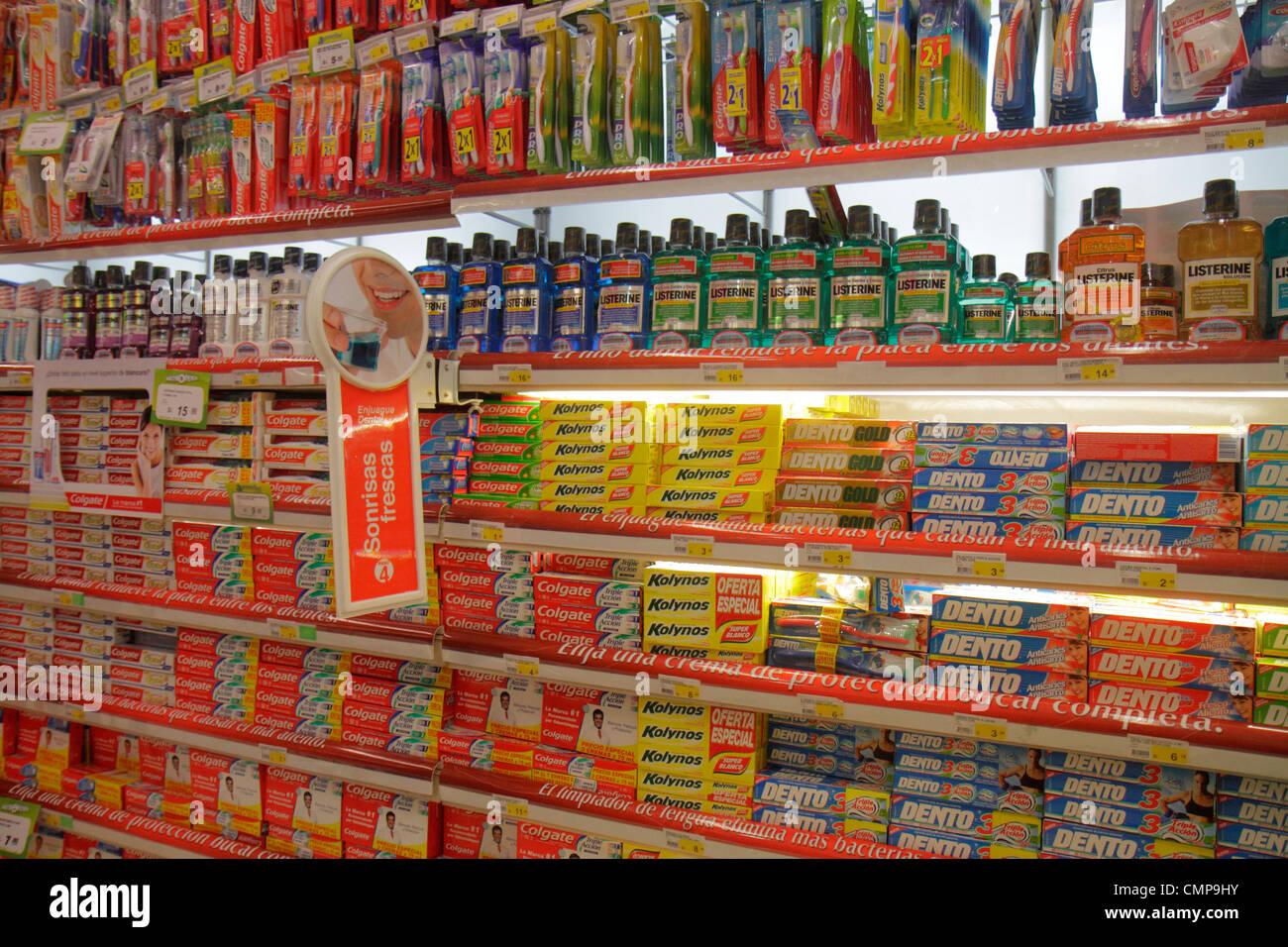 Lima Peru Santa Ana Avenida Canaval Y Moreyra Geschäft Einkaufen