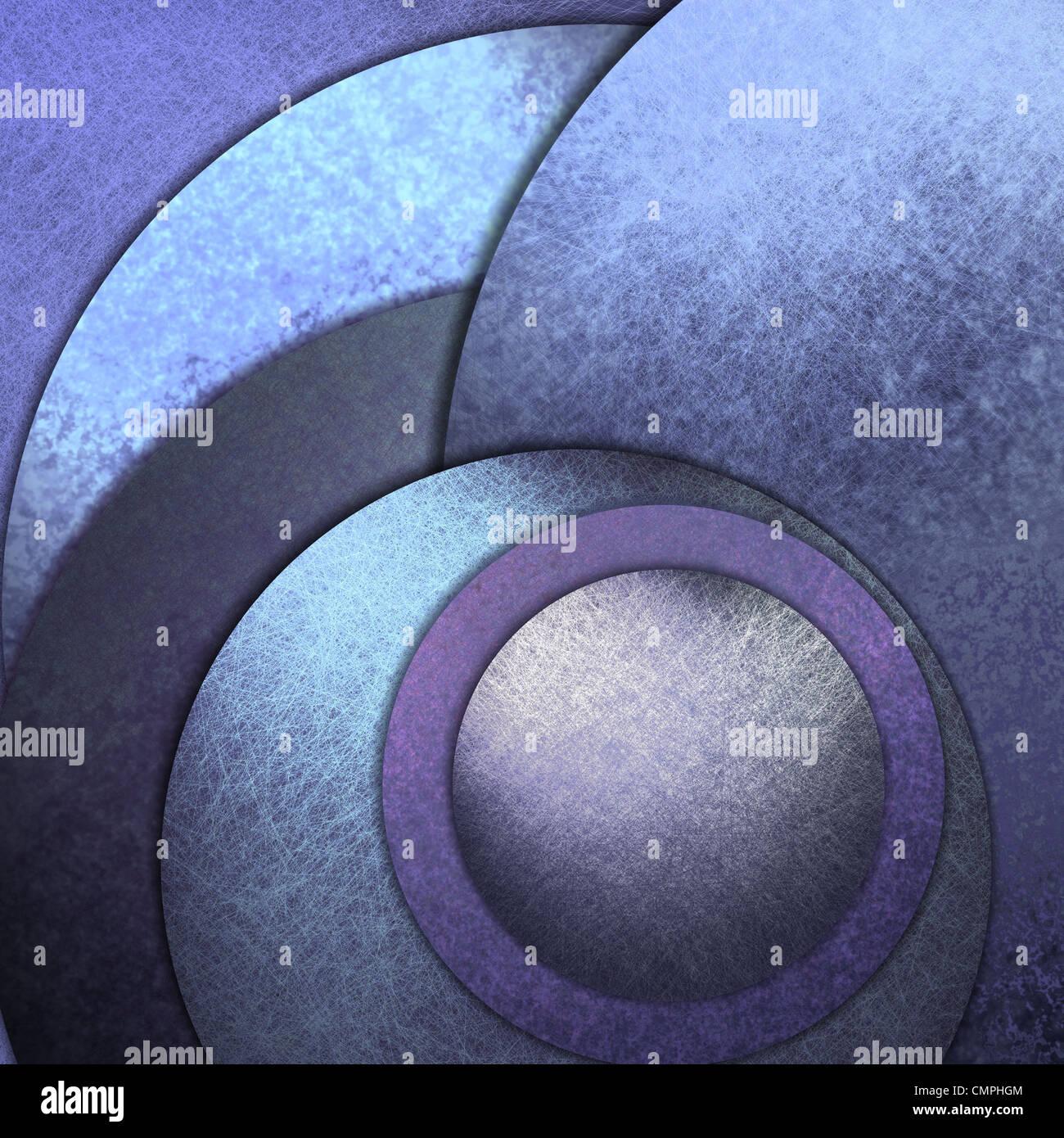 abstrakter blauer Hintergrund der modernen Kunst Stockbild