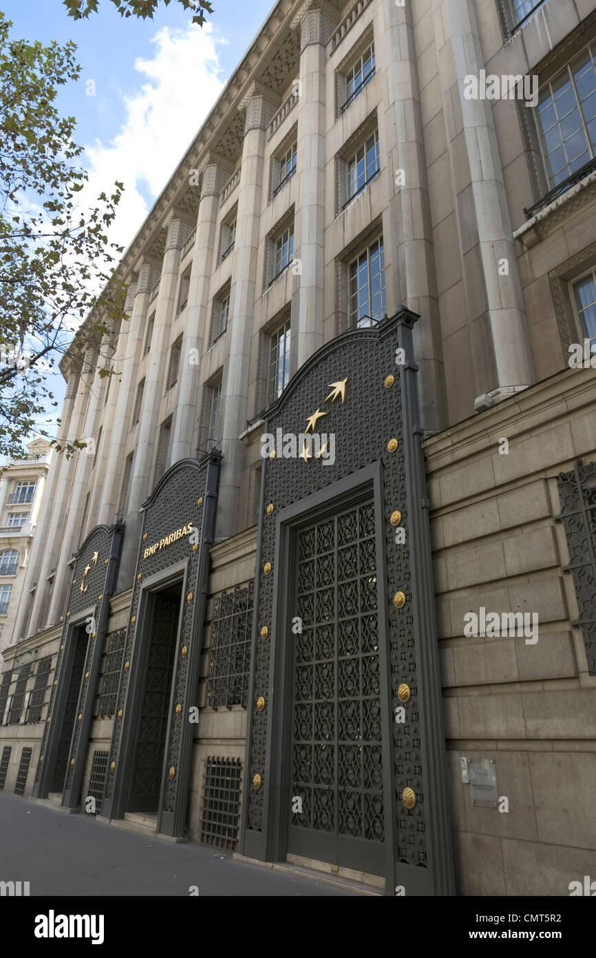 BNP Paribas Gebäude, Paris [...] Stockbild