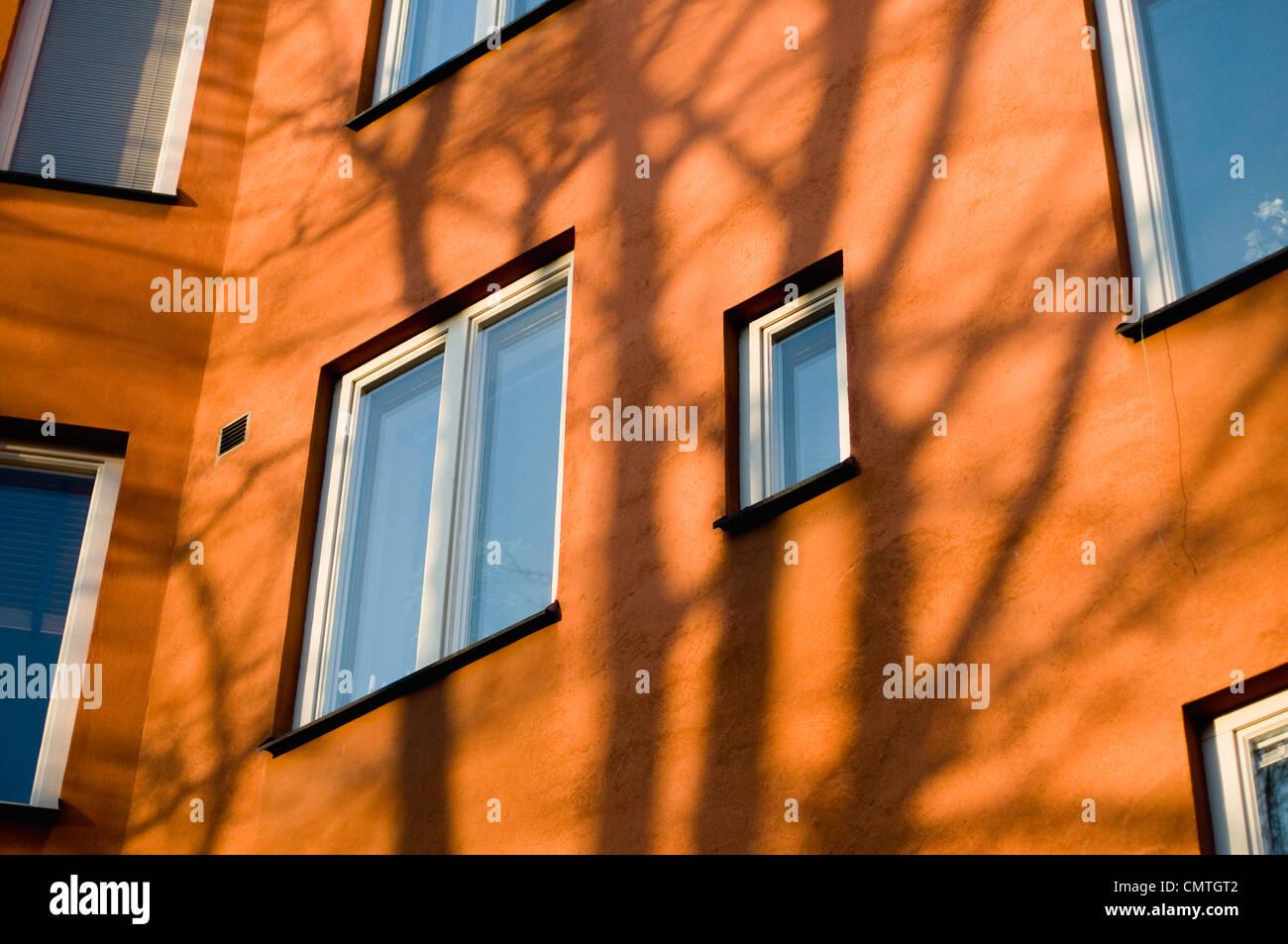 Wohnhaus Stockbild