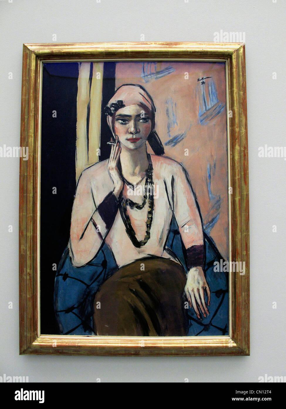 Fabelhaft Moderne Pullover Ideen Von Max Beckmann 1932 Qusuperbi Rosa Frauen Ausstellung