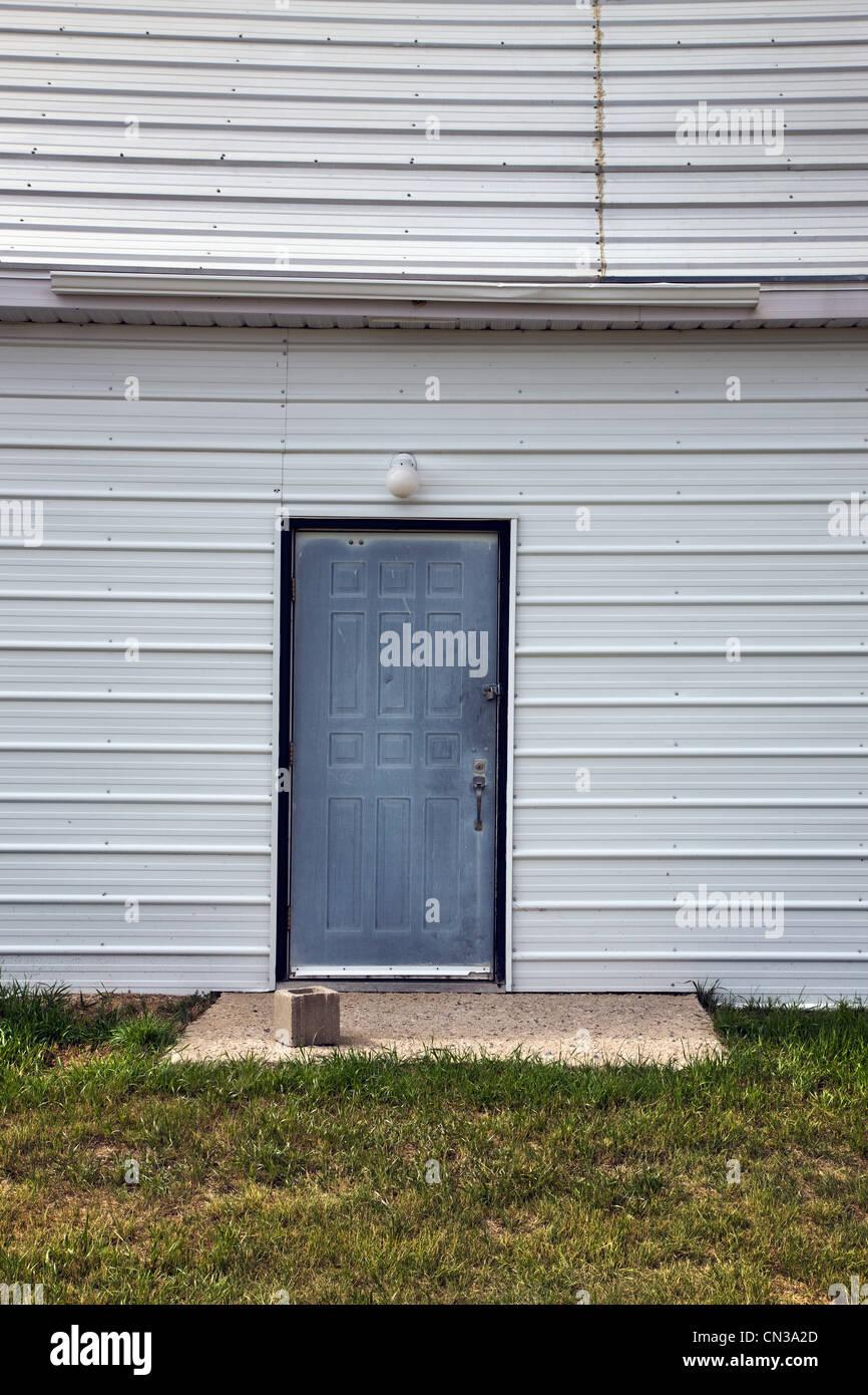 Tür in einem Gebäude Stockbild