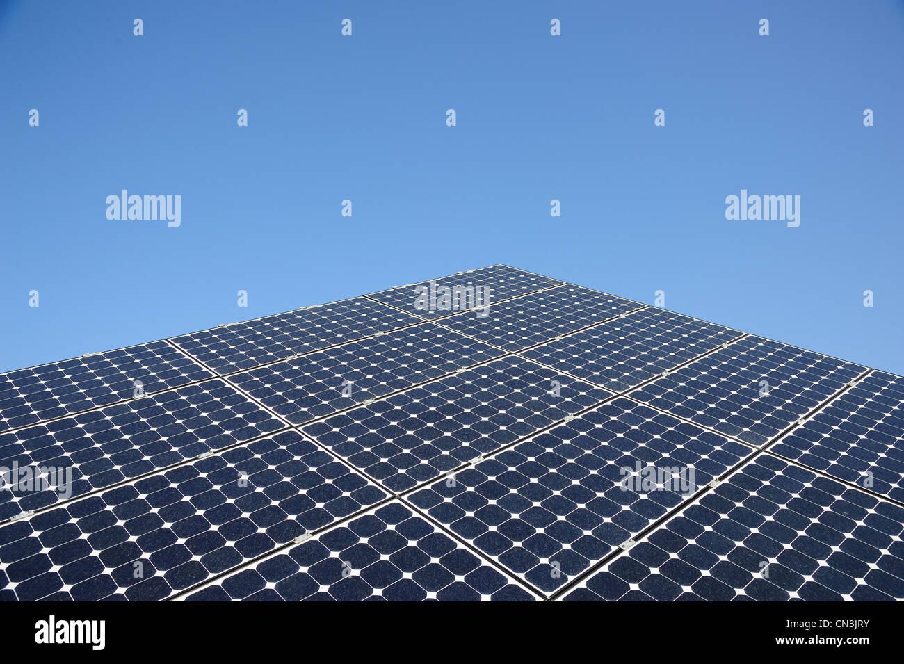THR Cleanenergy können zur Verringerung der Umweltverschmutzung Stockbild