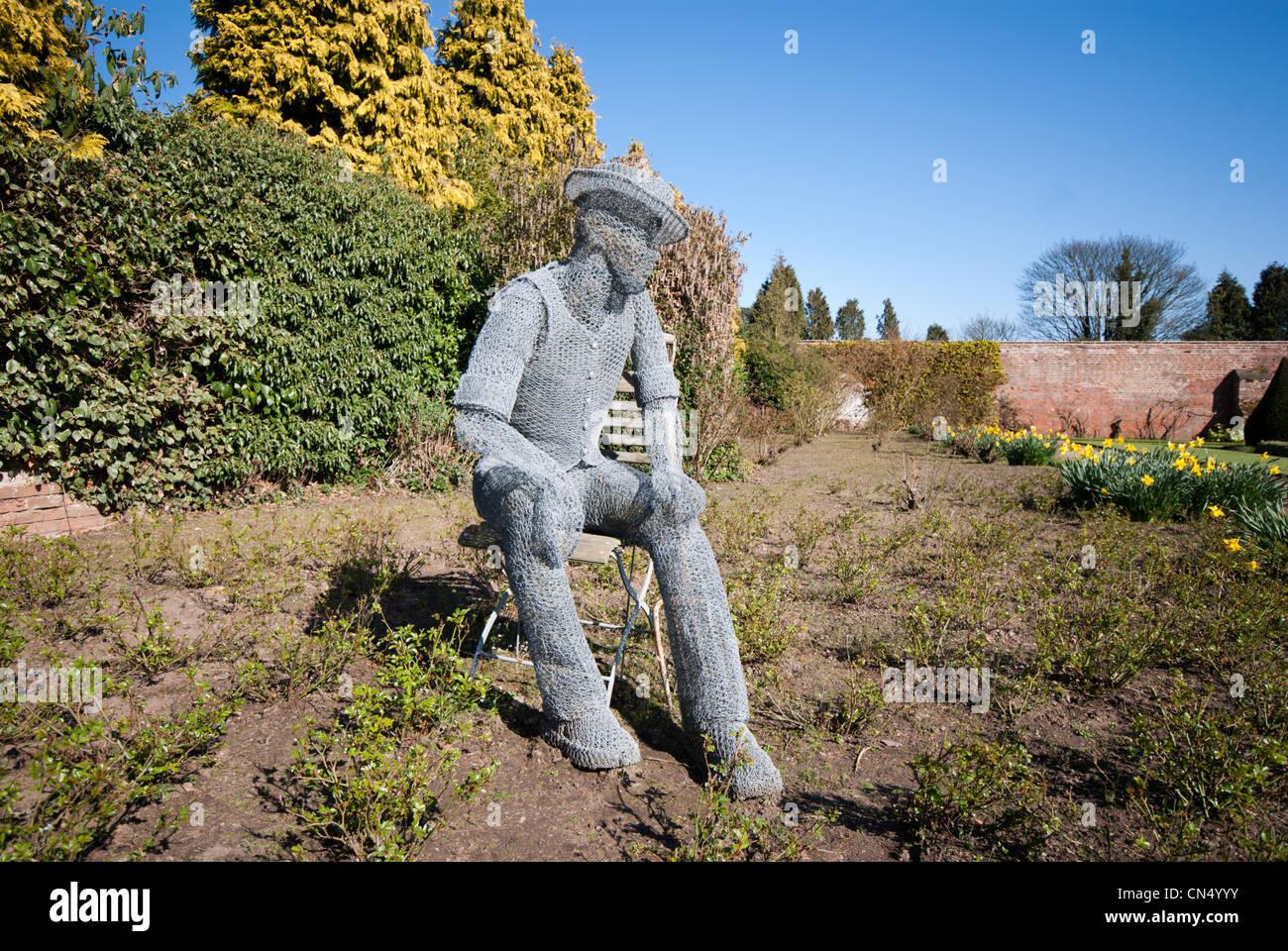 Wire Mesh Sculpture Stockfotos & Wire Mesh Sculpture Bilder - Alamy
