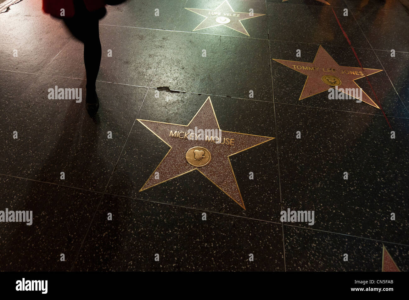 hollywood walk fame stockfotos hollywood walk fame bilder alamy. Black Bedroom Furniture Sets. Home Design Ideas