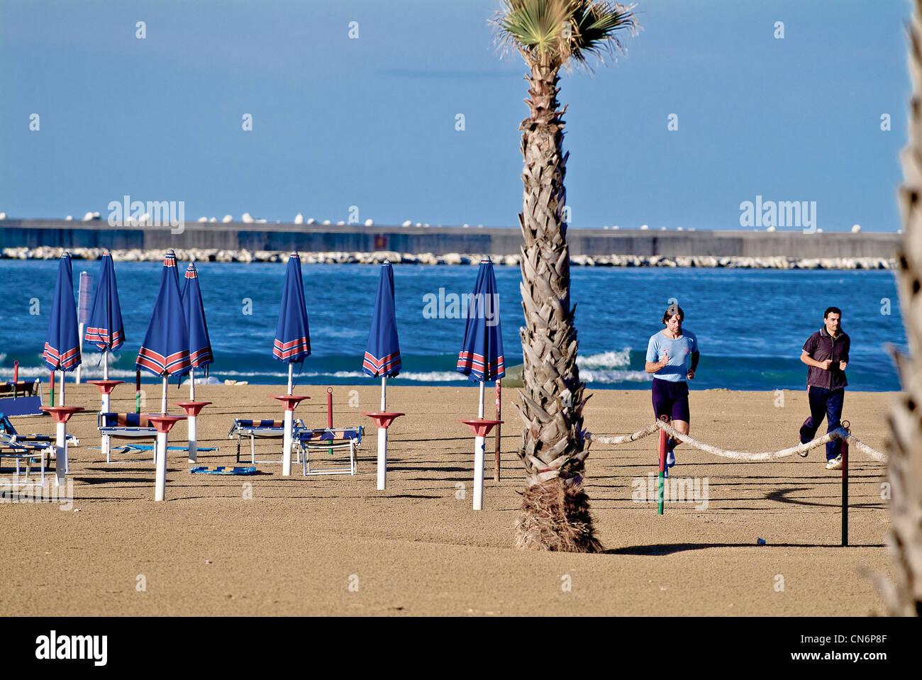 Pescara Strand pescara stockfotos pescara bilder alamy