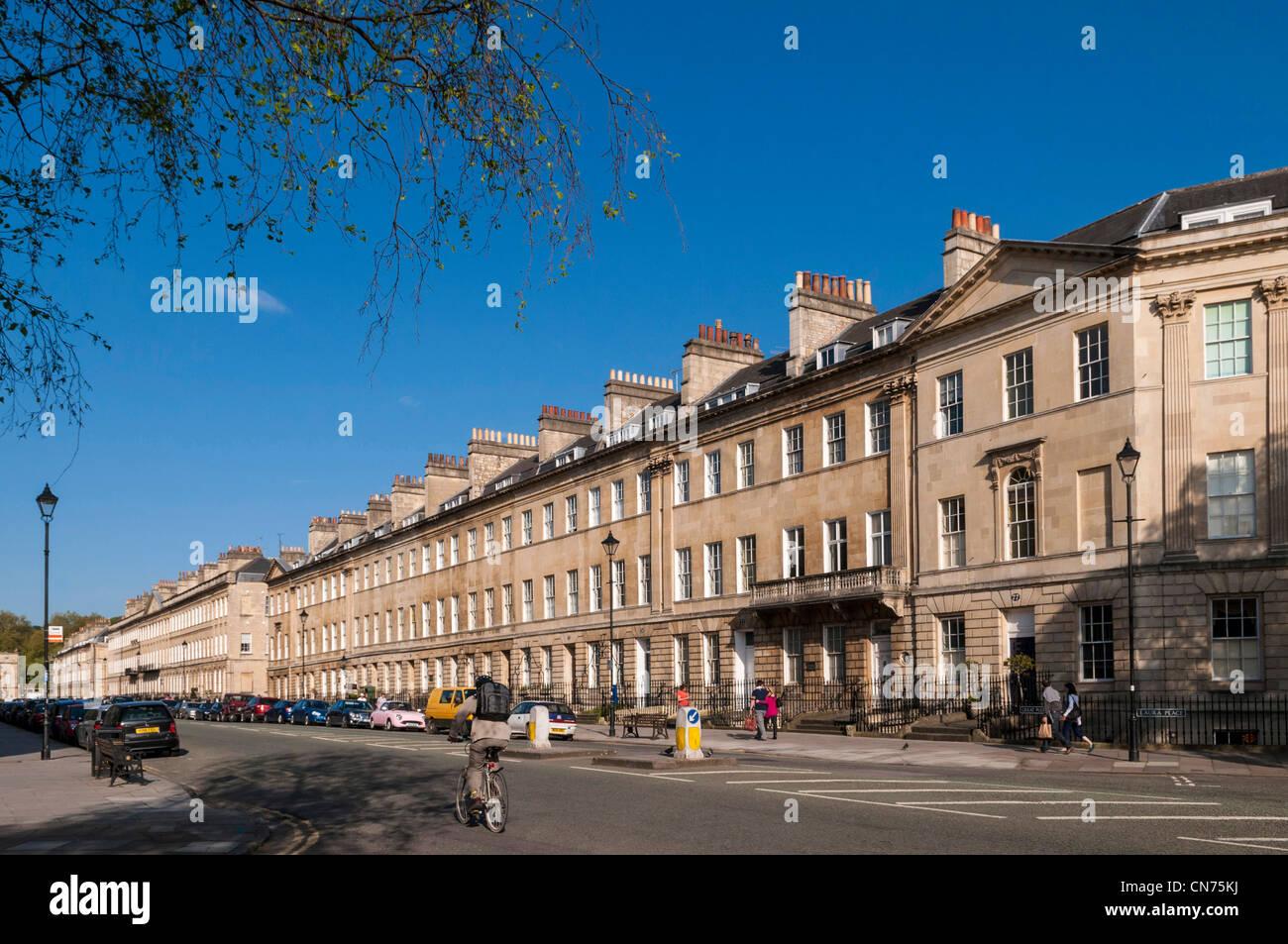 Bath, England, UK - Argyle Street Stockbild
