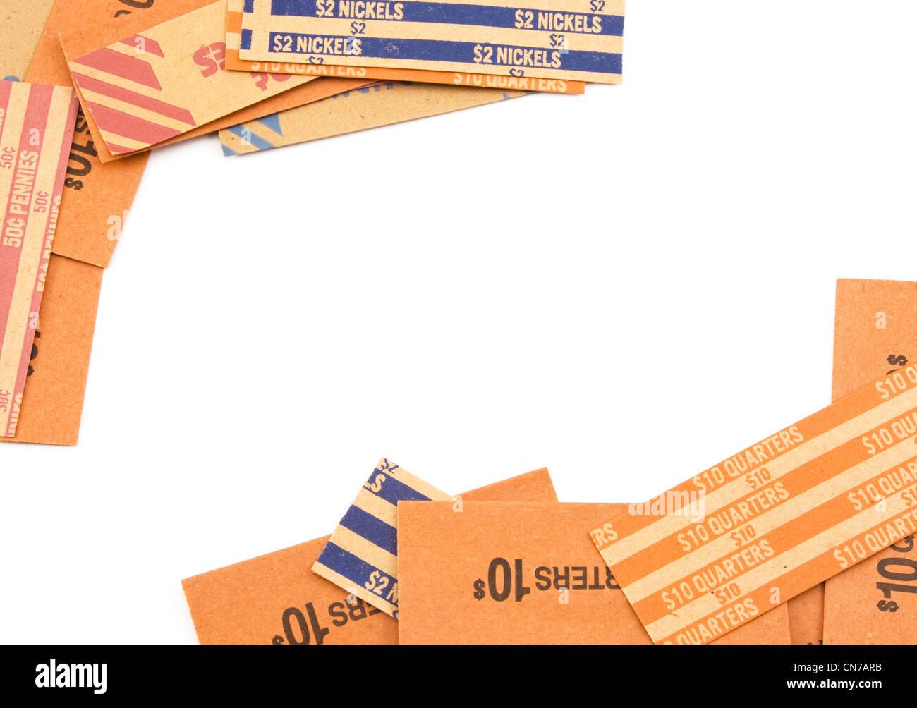 Coin Roll Stockfotos & Coin Roll Bilder - Alamy