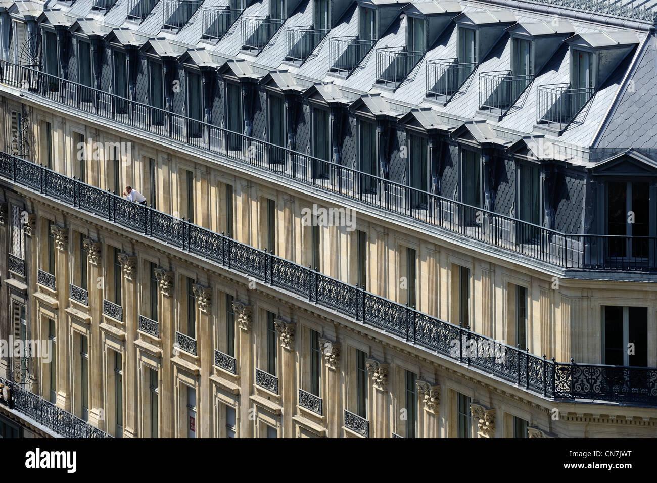 Paris Haussmann Stockfotos & Paris Haussmann Bilder - Alamy