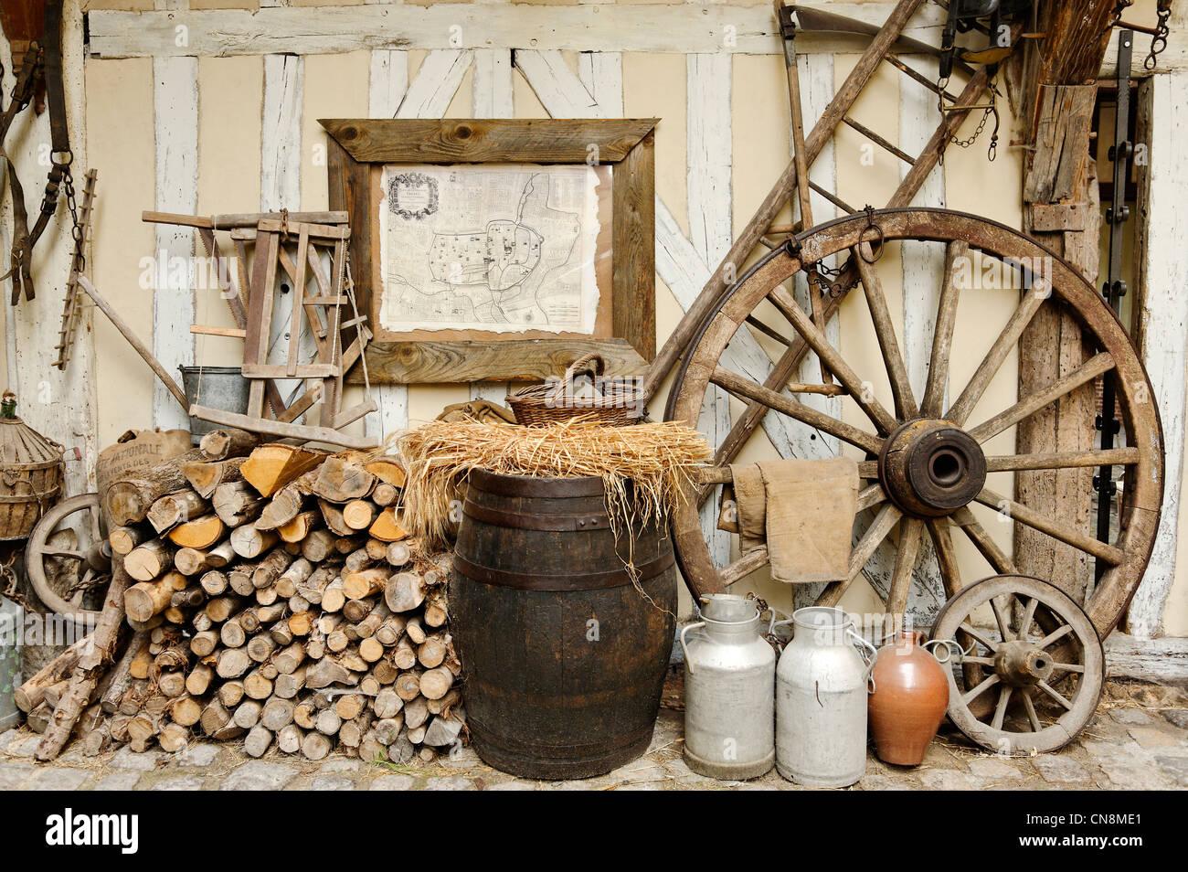 Frankreich, Aube, Troyes, Ruelle des Chats, alte ländliche Tradition ...