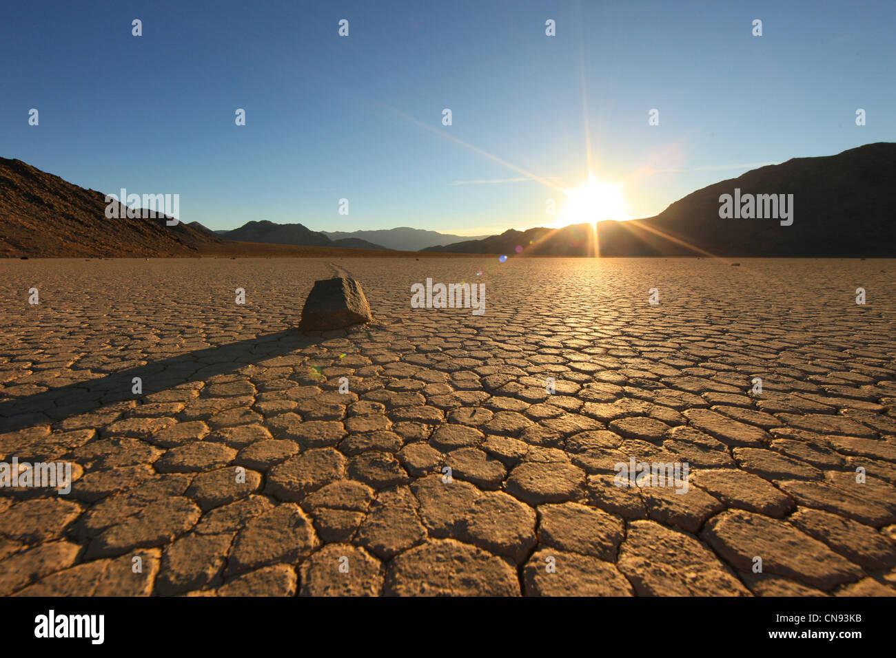 Sanddüne Formationen in Death Valley Nationalpark, Kalifornien Stockbild