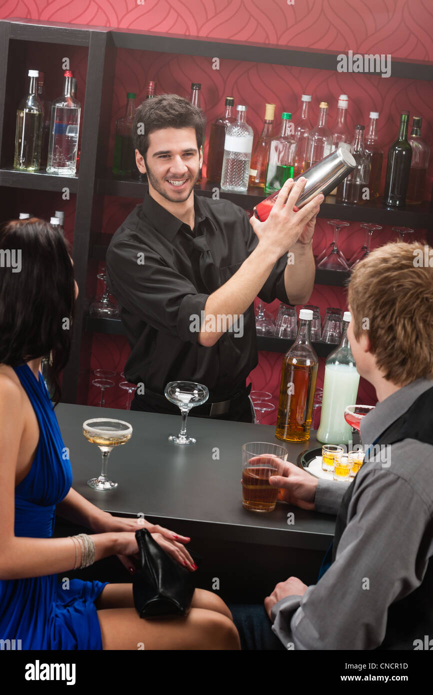 Flirten barkeeper