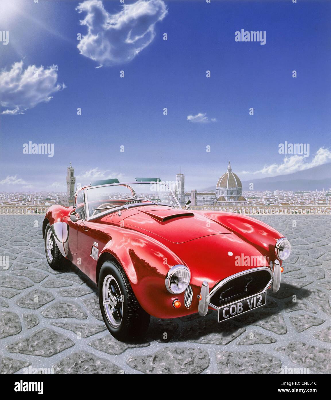 Ac Cobra Red Stockfotos Ac Cobra Red Bilder Alamy