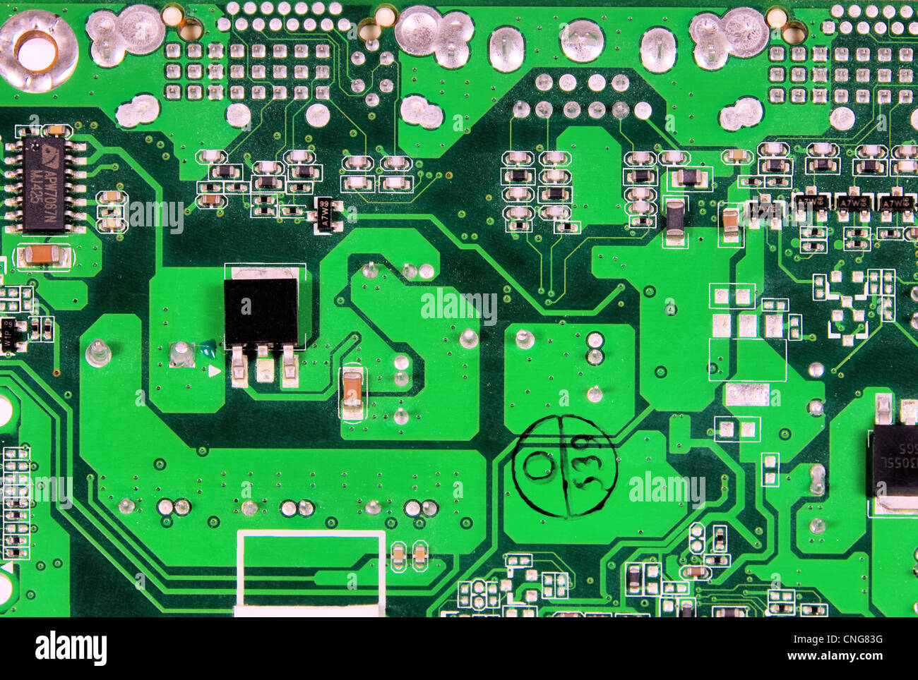 Platine - Computerplatine 01 Stockbild