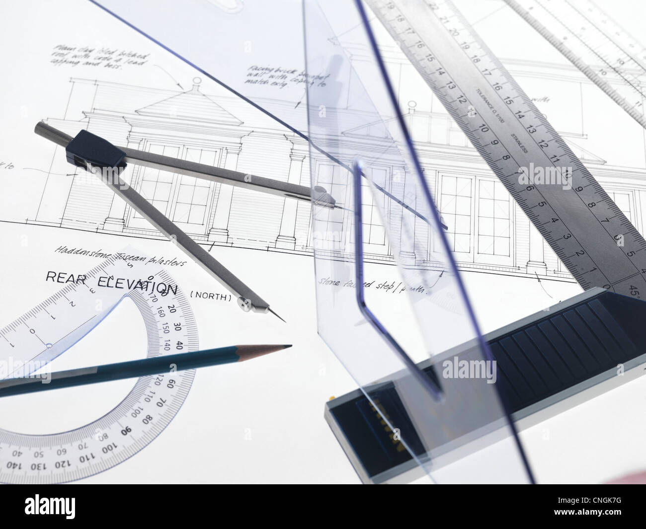 Architektur Stockbild