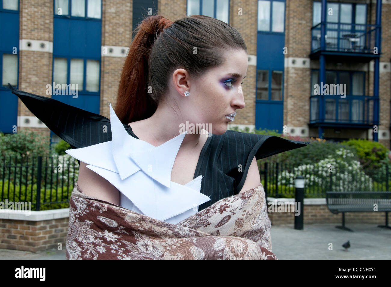 London Alternative Fashion Week 2012 zeigt originelle und kreative Kollektionen durch eine frische Ernte von Neue Stockbild