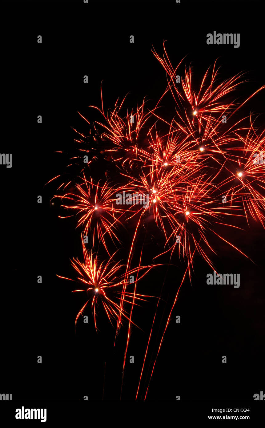 Feuerwerk - Feuerwerk 19 Stockbild