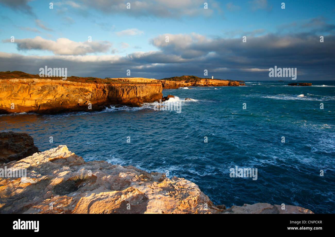 Gewand Küste. Limestone Coast. Süd-Ost. South Australia. Stockbild