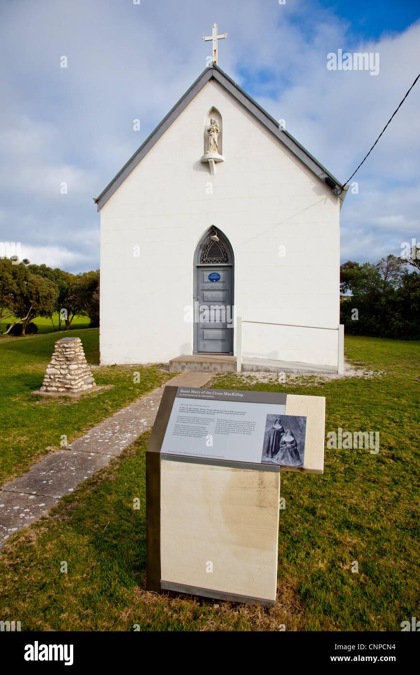 Stern des Meeres-Kirche. Gewand. South Australia. Stockbild