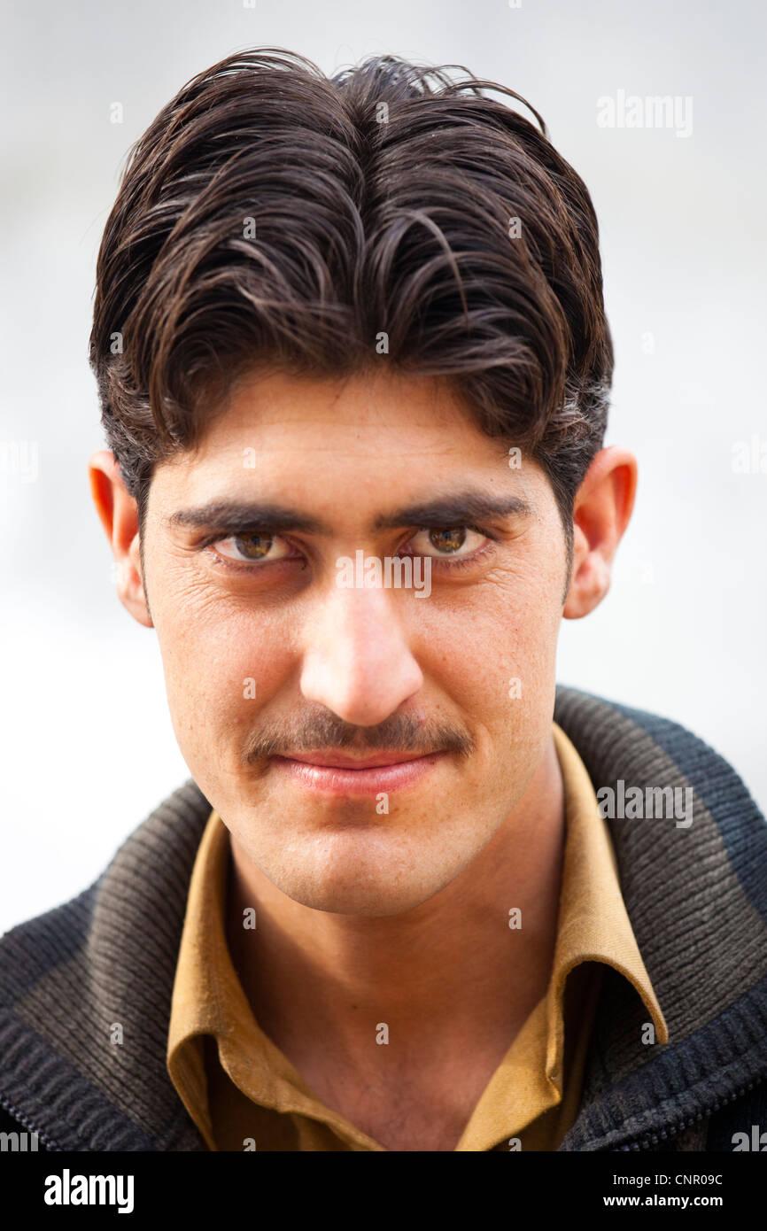 Pakistanischen Mann in Islamabad, Pakistan Stockbild