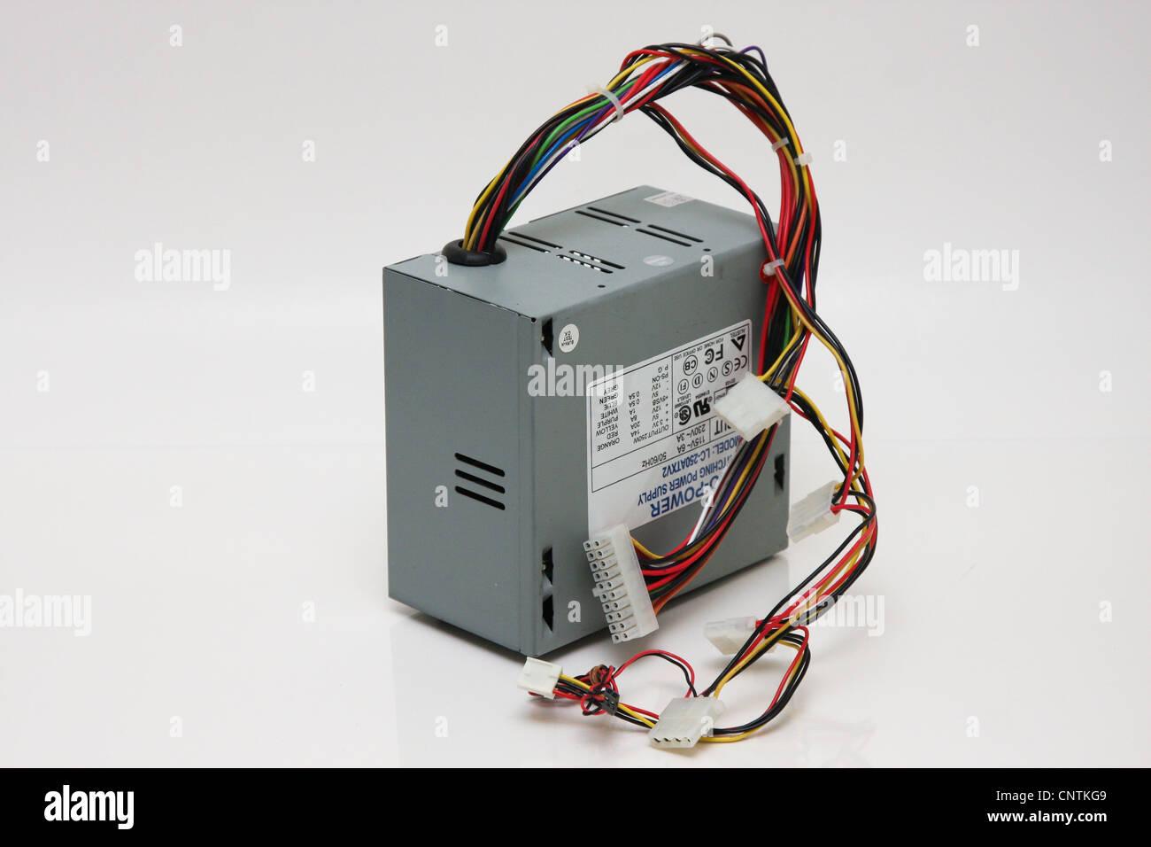 Computer-Netzteil Stockbild