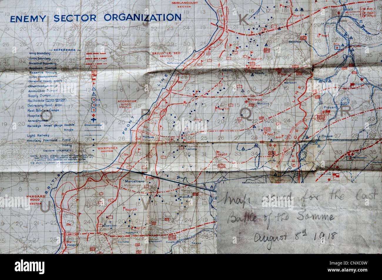 Westfront 1 Weltkrieg Karte.Ersten Weltkrieg Karte Der Westfront In Frankreich