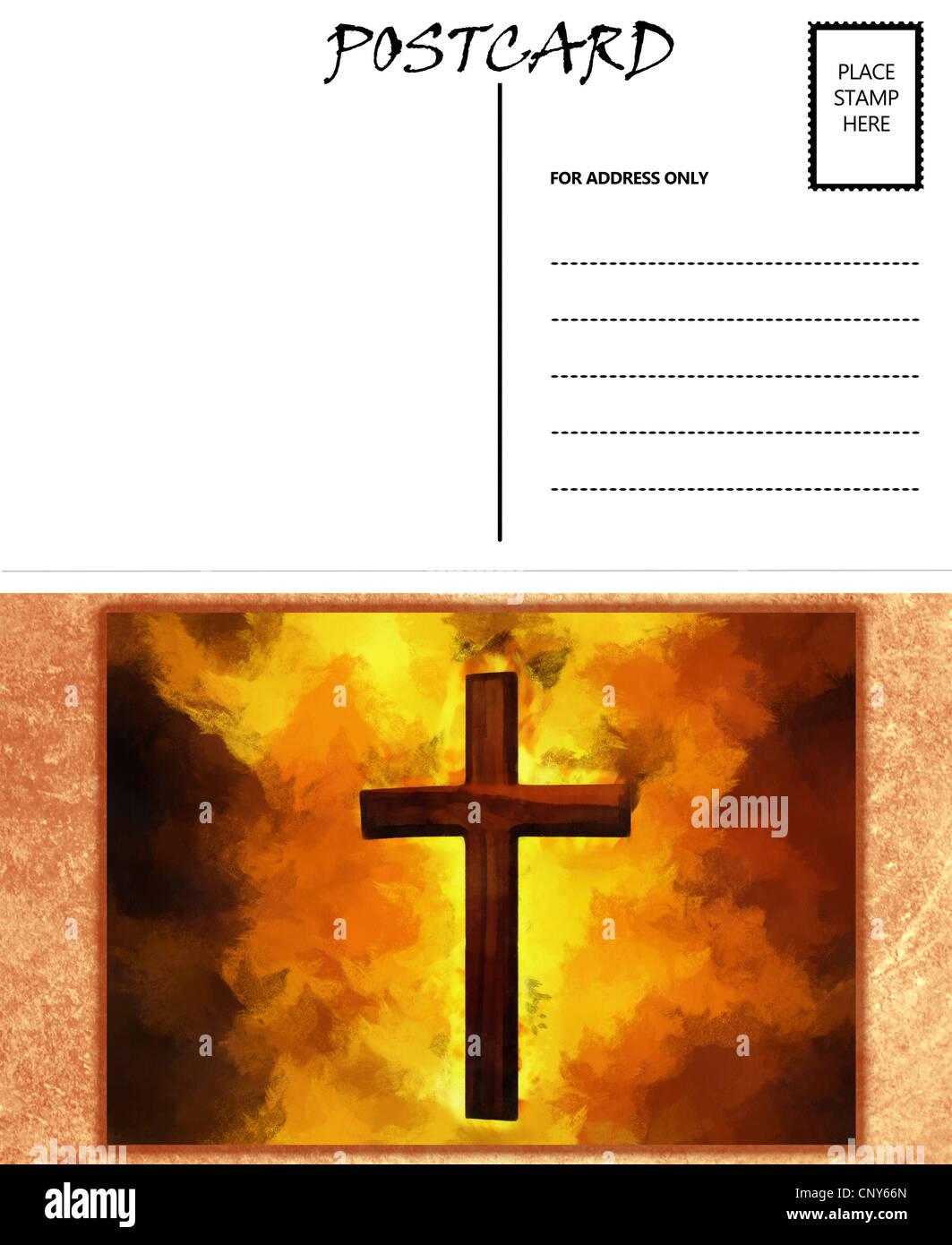 Ziemlich Postkarte Vorlage Wort Frei Bilder - Beispiel Business ...