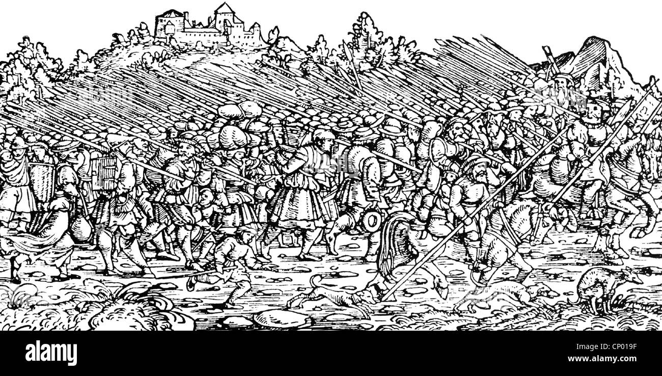 peasant revolt 1524 dbq Analyze the causes of and the responses to the peasants' revolts in the german states 1524–1526 historical background: in late 1524, peasants, craftsmen, and poor soldiers formed bands and pillaged throughout a large area of the holy roman empire during the revolt, some of the rebel bands authored statements of.