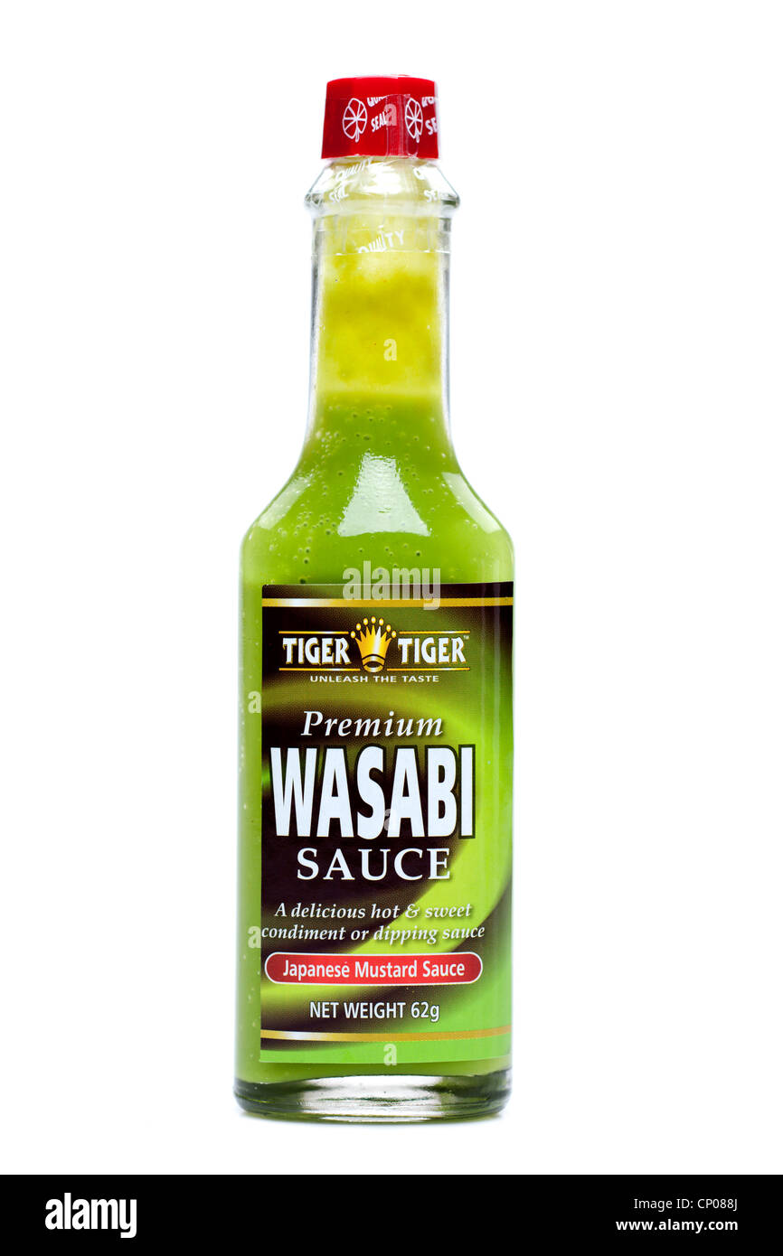flasche tiger tiger wasabi sauce stockfoto bild 47949682 alamy. Black Bedroom Furniture Sets. Home Design Ideas
