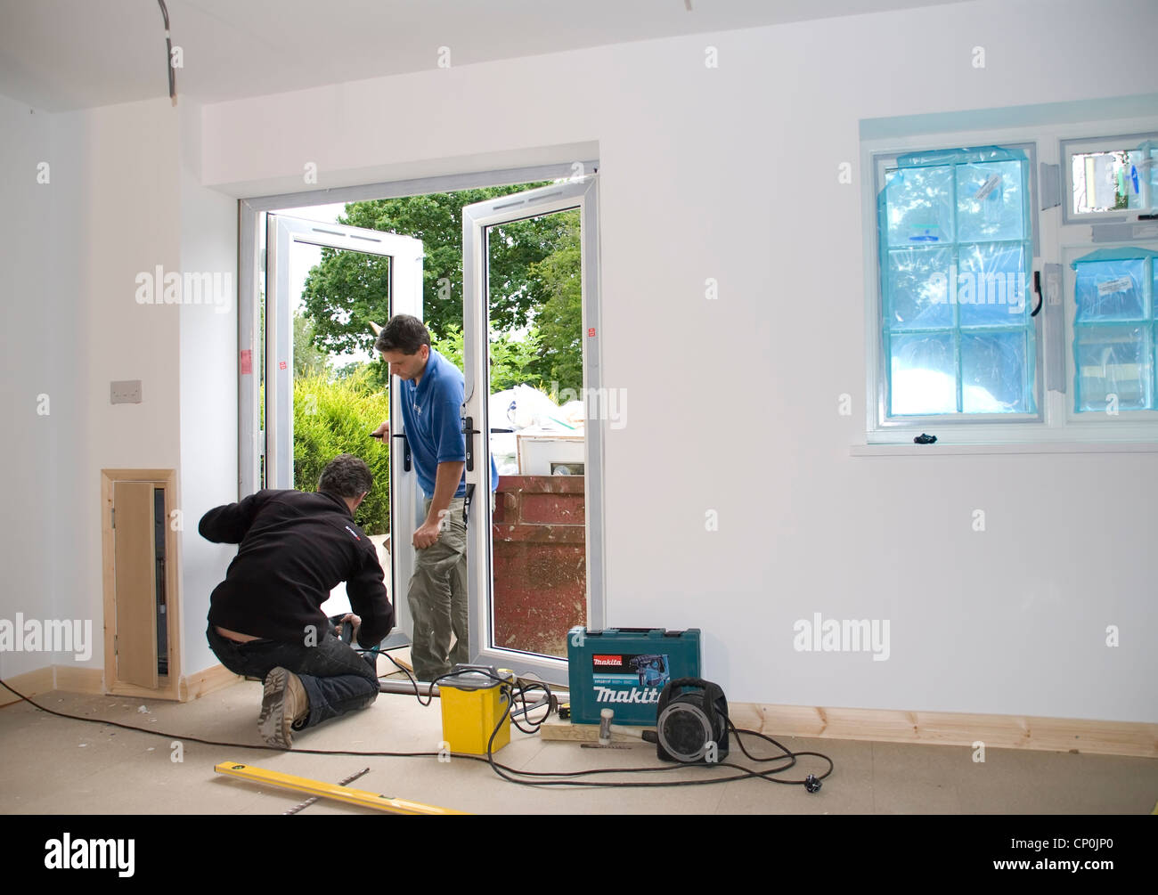Pvc Doors Stockfotos & Pvc Doors Bilder - Alamy