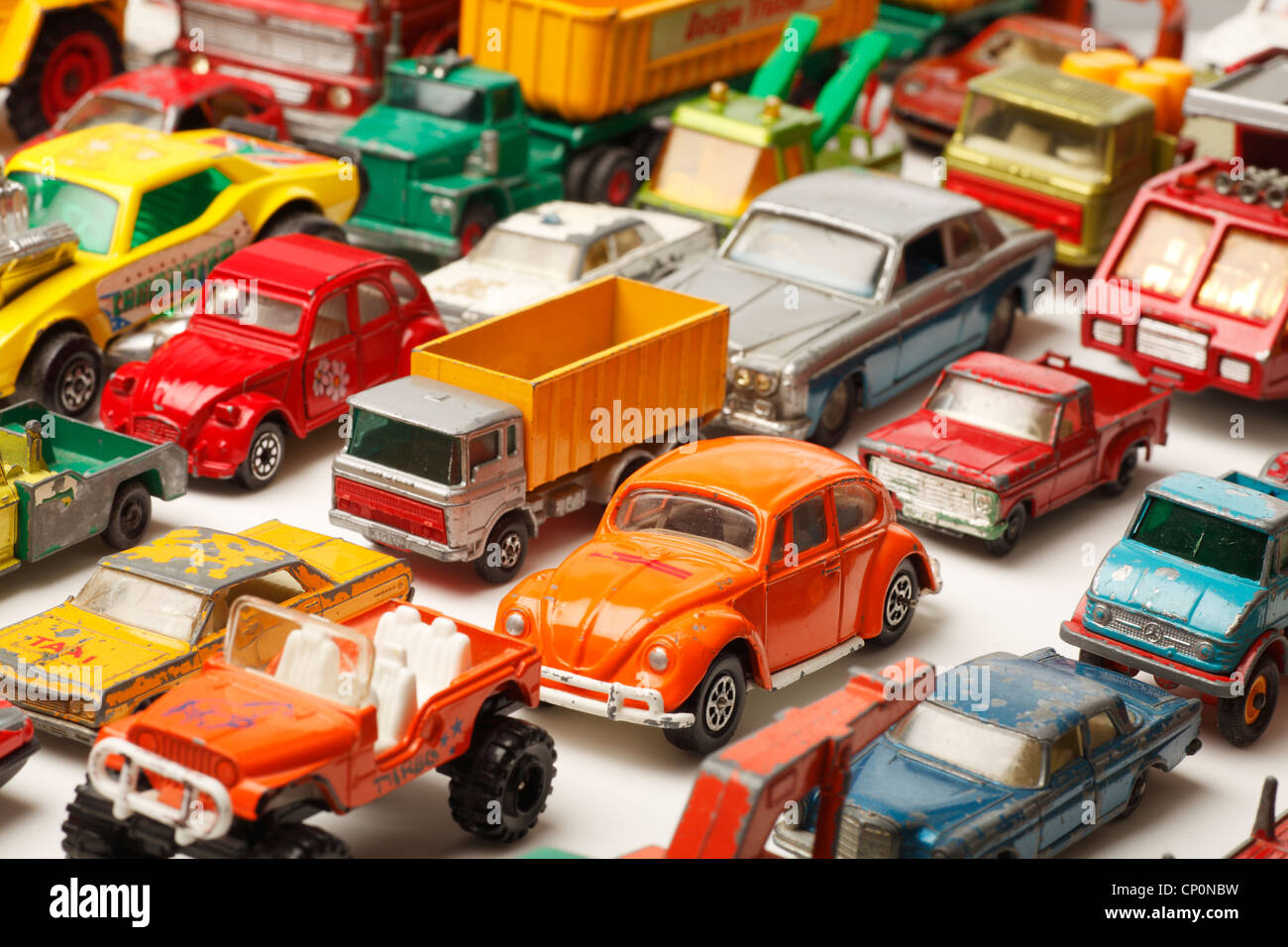 Corgi cars stockfotos bilder alamy