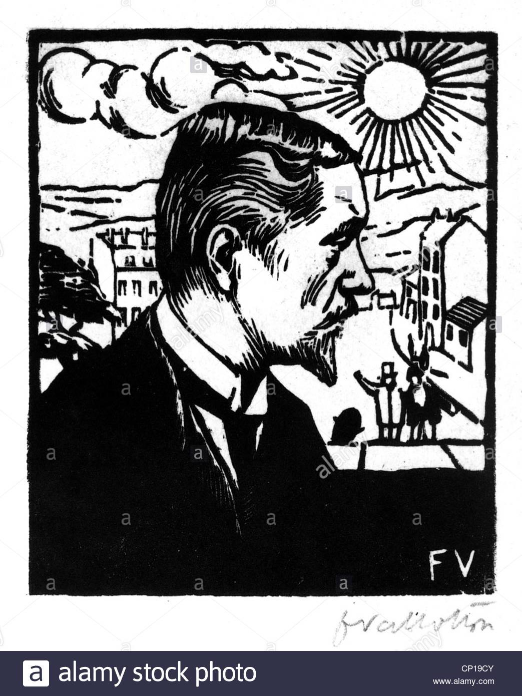 Künstler Braunschweig bildende kunst vallotton felix 1865 1925 selbstporträt 1891