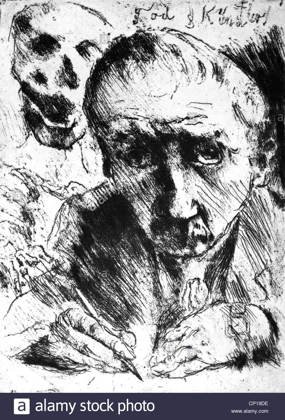 Künstler Braunschweig bildende kunst corinth lovis 1858 1925 tod und künstler 1920