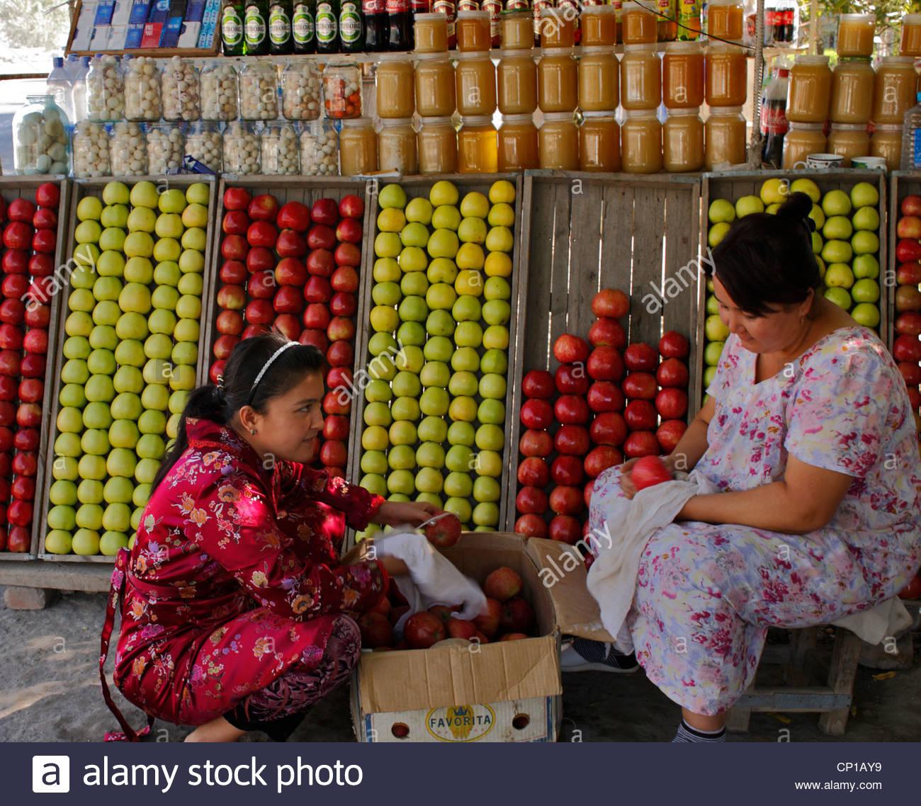 Verkauf von pfeln getr nke s igkeiten und honig an for An und verkauf von mobeln