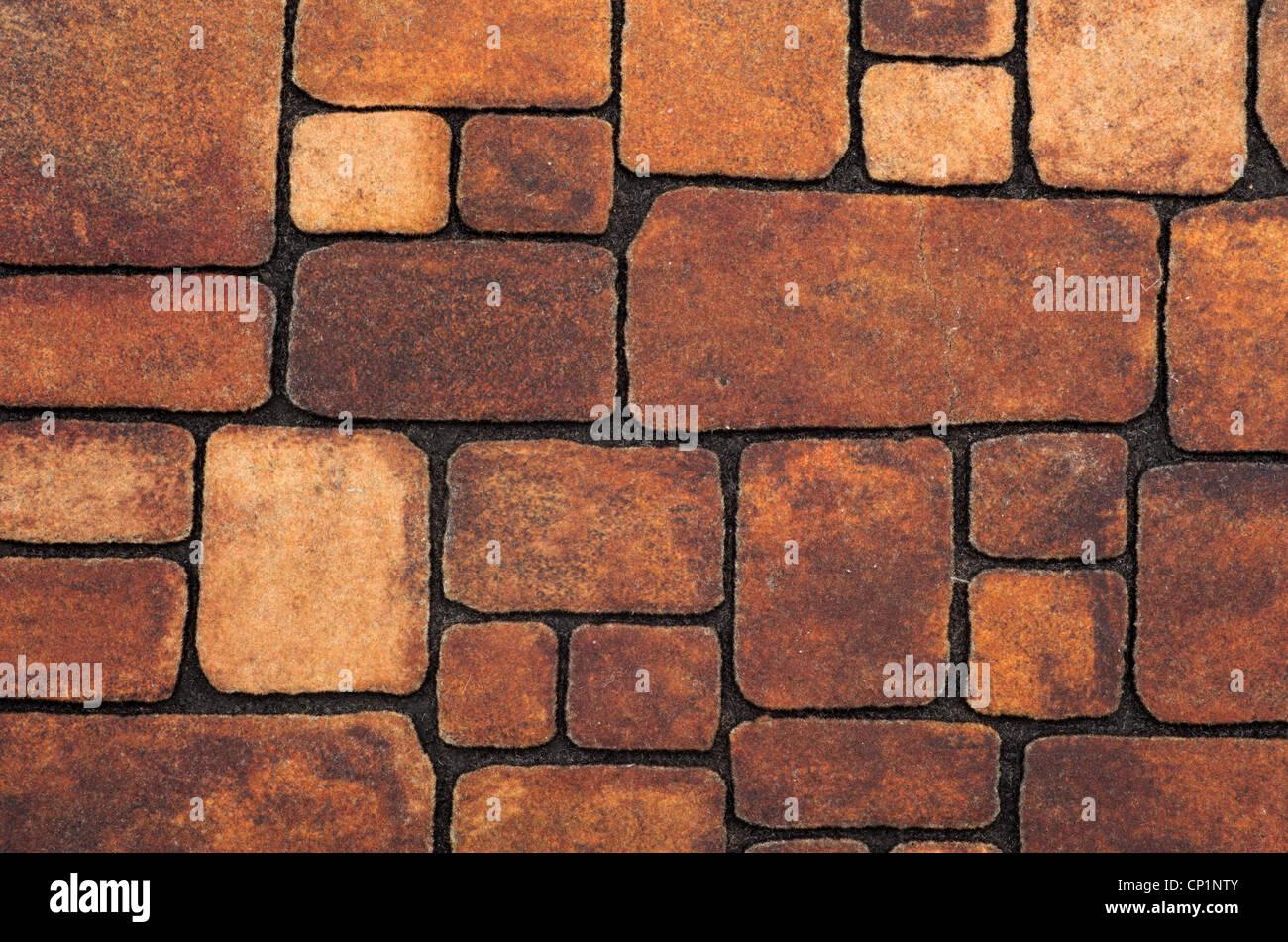 Hintergrund der Steinmauer Textur Stockbild