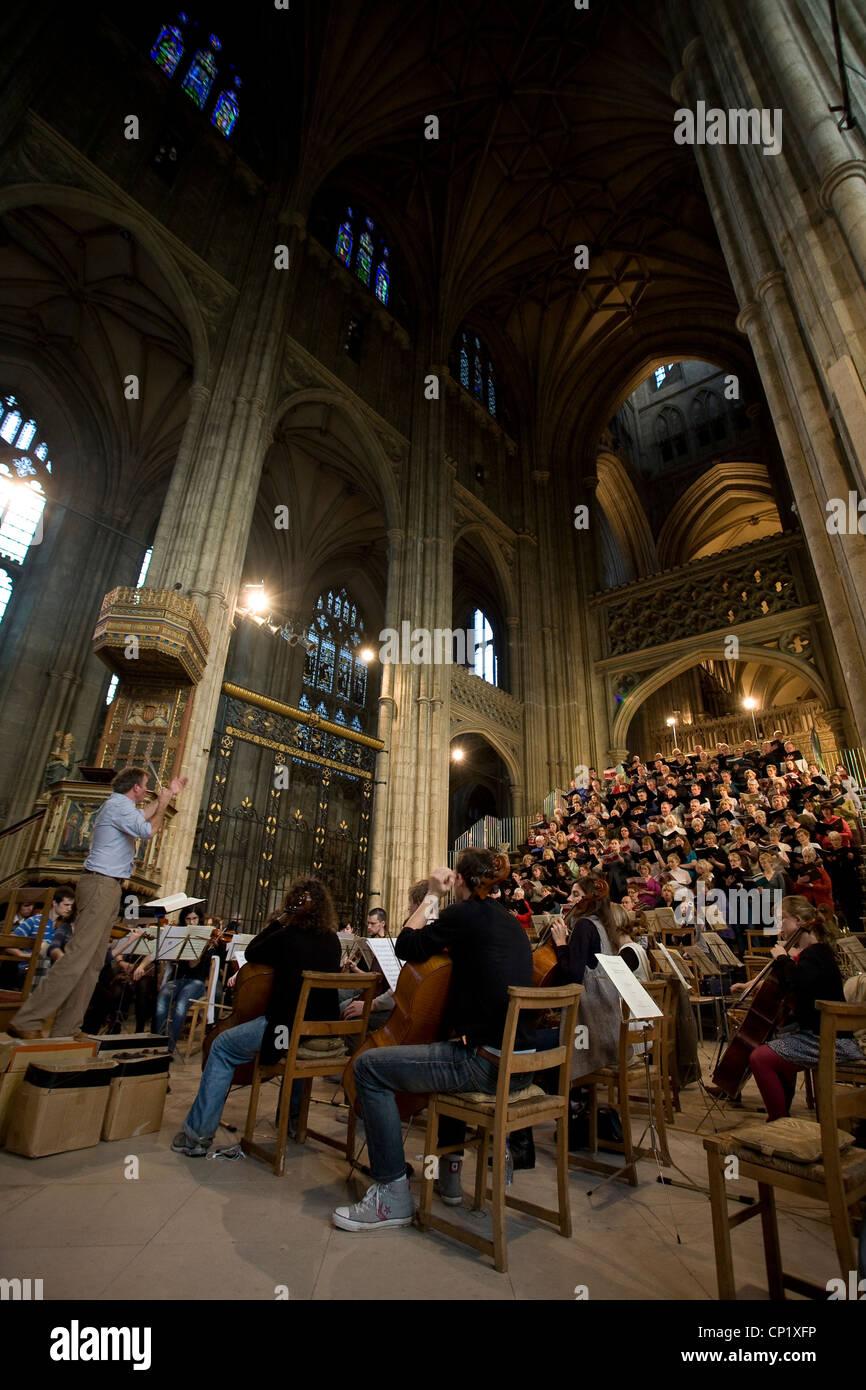 Canterbury Kathedrale, Chor, Kent, England, UK Stockbild