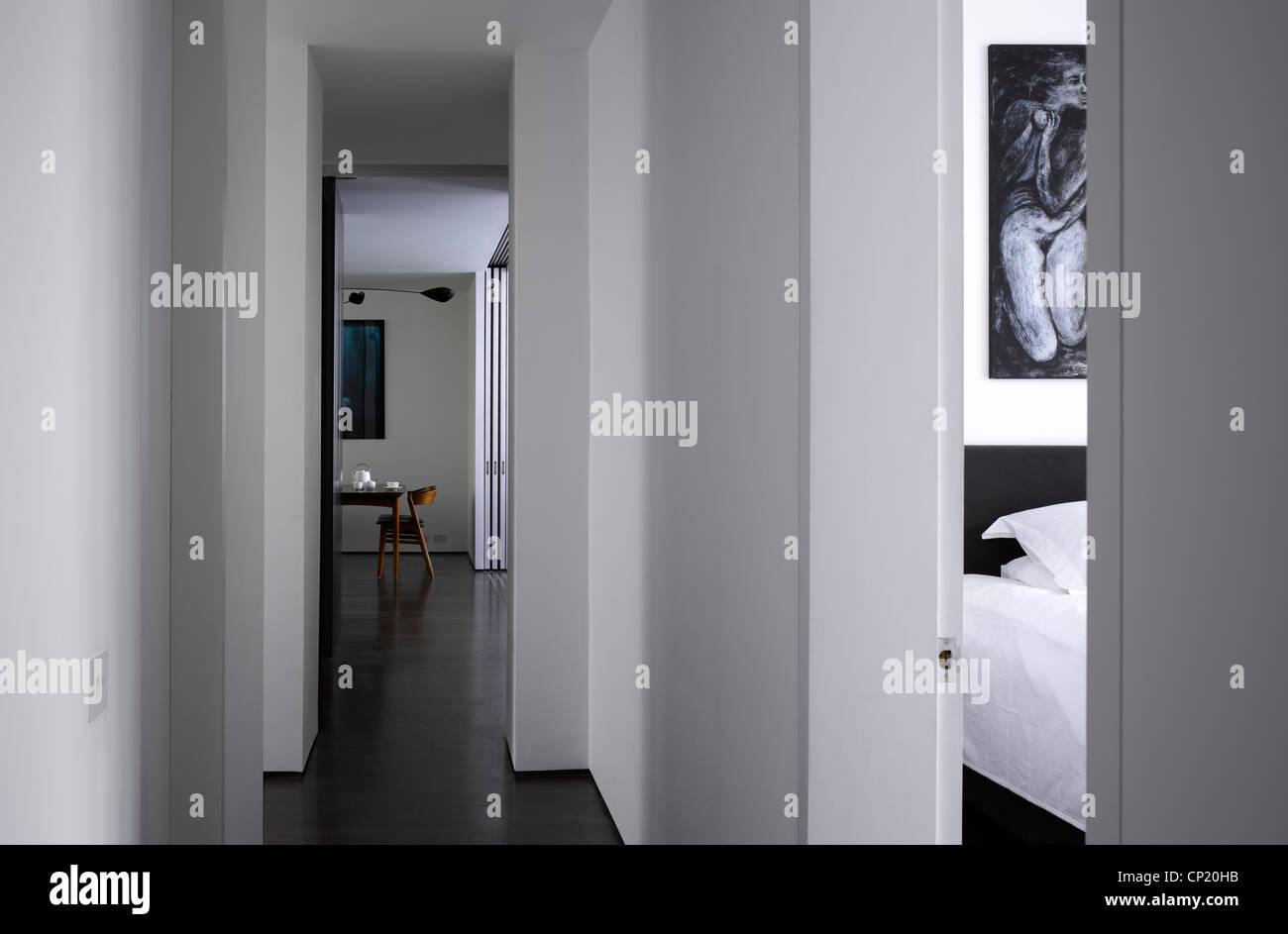 Folie Wohnung, Bayswater, Architekten: Architekten: Openstudio Architekten-Jennifer Benningfield - Stockbild