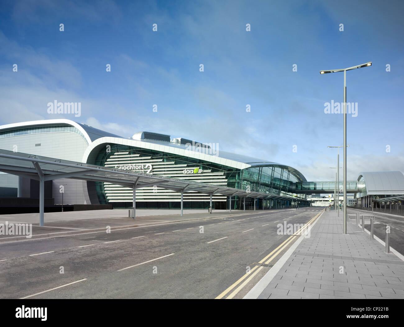 Dublin Flughafen, Terminal 2. Stockbild