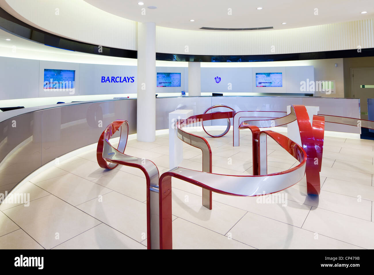 Barclays Bank-Interieur Stockfoto, Bild: 48036727 - Alamy