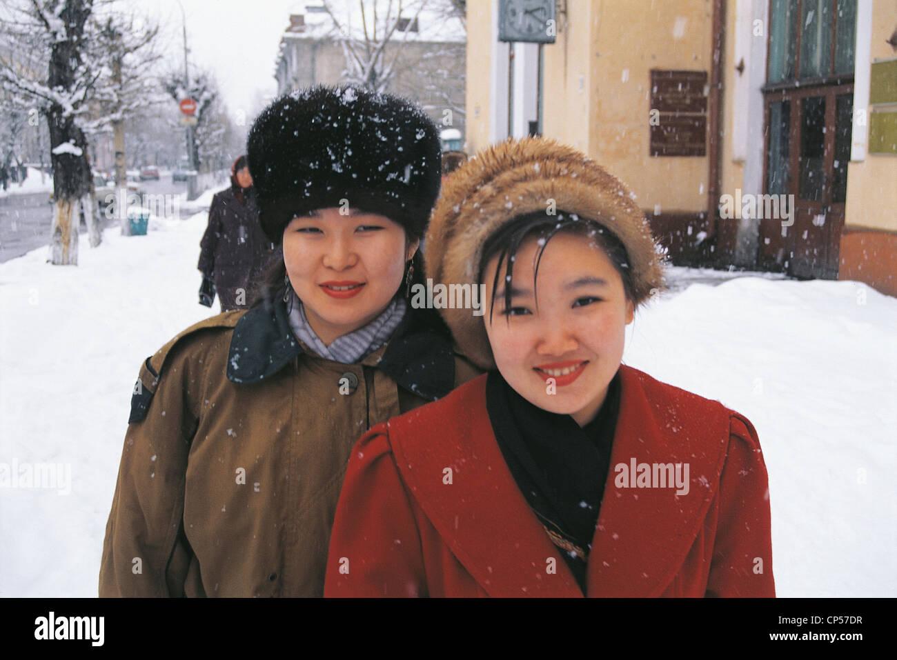 Frauen aus sibirien